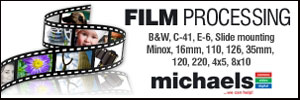 Film processing at Michaels