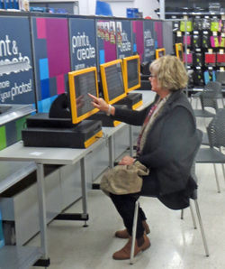KMart has replaced its now-obsolete HP printers and kiosks with Kodak Alaris systems. The Brandon Park KMart had five kiosks installed.