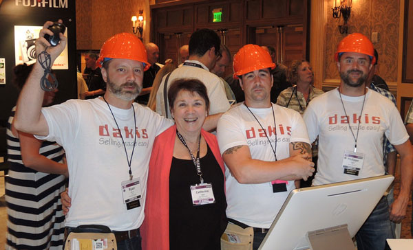 Catherine Logue and the lovable rascals from Dakis. One-on-one consultancy sessions from Dakis
