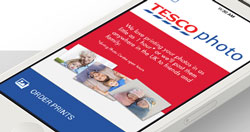 Tesco Photos UK is up and running, but mobile apps are still unavailable.