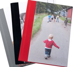 Customised notebooks are a logical extension of the Kikki K stationery business. They should also be a logical extension to a photo printing services business.