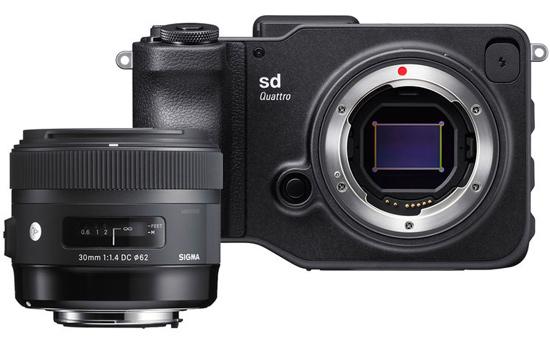 The sd Quattro/f1.4 30mm Art bundle represents great value at $1599.