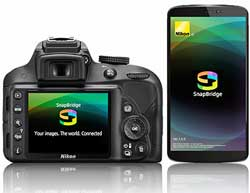 Nikon has made a concerted effort towards connectivity with its SnapBridge bluetooth app.
