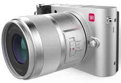 The Yi M1 - a 20-meg, M34- mount camera which is available for around US$500 with 14-42mm lens. .