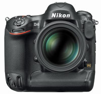 The Nikon D4 will be released in February. Local pricing was not supplied.