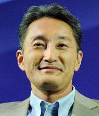 Sony's new CEO Kazuo Hirai.