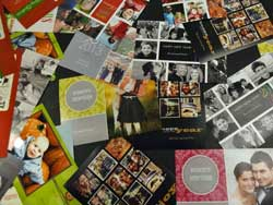 Cards and other custom stationery was a hot topic at the conference.