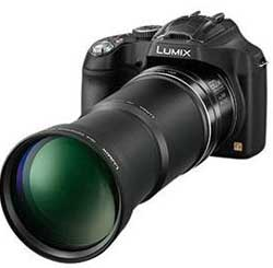 With a lens like an elephant's trunk, the Panasonic Lumix FZ70 is the current heavyweight champion of superzooms.