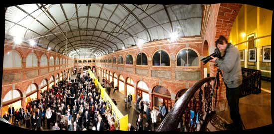 The Ballarat Mining Exchange - venue for the BIFB'13 official opening.