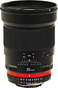 The budget-priced Rokinon/Samyang 35mm f1.4 lens averaged just eight weeks in the field before it needed repair.