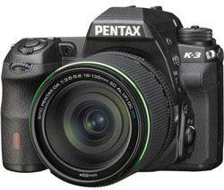 The Pentax K3  is the first DSLR to offer both AA filter-free and filtered shooting.