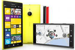 The Nokia Lumia 1520 has a 20-megapixel sensor, Zeiss optics, a 6-inch 1080x1920 screen and 'Storyteller' digital photo book software.