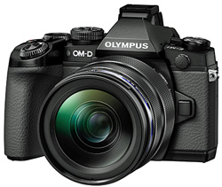 The Olympus OM-D EM-1: 'in strong demand'.