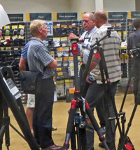 The ProMaster range of products were showcased during the Camera House AGM weekend.