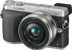The specialty-store exclusive Lumix GX7: 'I'm looking for a new mirrorless interchangeable and tossing up between the EOS M and the GX7 - which one would you recommend?'
