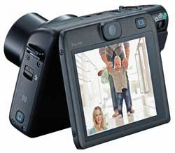 Canon will be banking on innovative new models like the Powershot N100, with it's auxilliary 'face-facing' camera for selfies, creating interest in the mass market.