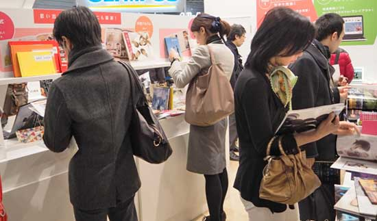 There were fewer photo books exhibitors this year, but the Asuka stand was well-patronised and showed some attractive designs in a wide range of sizes and styles.