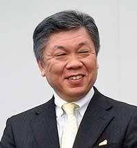 Haruo Ogawa, president,