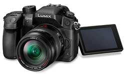 The videographically proficient Lumix GH4 was announced without a release date or price.