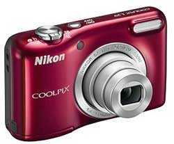 The sub-$100 Coolpix L29 starts the Nikon compact range. There are currently five or six Coolpix under $200 (depending on which reseller one consults).