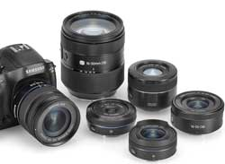 Samsung-NX30-and-lens-range