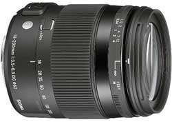 Sigma 18-200mm F3.5-6.3 DC Macro OS HSM - best entry-level DSLR lens.