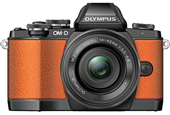 The limited edition E-M10 kits are available in orange, green and black.