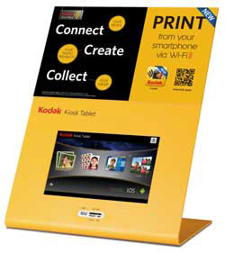 The Kodak 100 will feature in the tradeshow component of the IPS roadhow, and one will be given away as a 'door prize' at each of the seven venues.