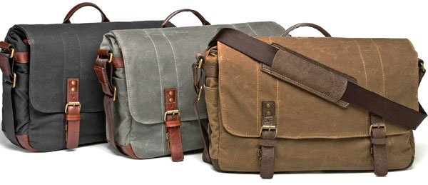 The Ona Union Street camera and laptop messneger bag.
