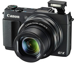 The Canon G1 X is cheaper and has a longer focal range, but  bulkier and lacking that essential outdoor feature - the viewfinder.