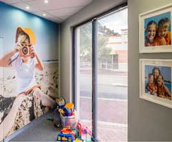 Creating a more welcoming space for all potential clients.