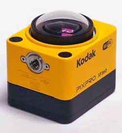 The Kodak Pixpro SP360.