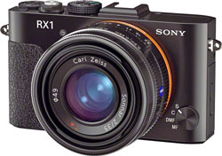 A new RX series camera may be the first to use the full frame Sony curved sensor.