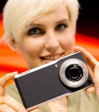 The Panasonic CM1 is a high-quality camera with a 4.7-inch screen which makes phone calls and connects to the internet.