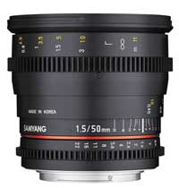 Samyang's full-frame 12mm f1.5.