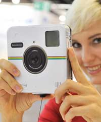 Innovation: The Polaroid Socialmartic combines instant prints and instant social networking.