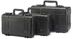 Lowepro Hardside cases.