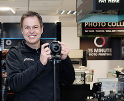 Entrepreneur Peter Jones proves the death of specialist  photo retailing is greatly exaggerated.