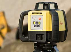 Leica Geosystems laser level.