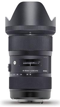 Sigma 18-35 f1.4 :
