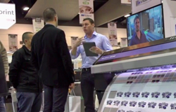 Roland DG at Printex last month.