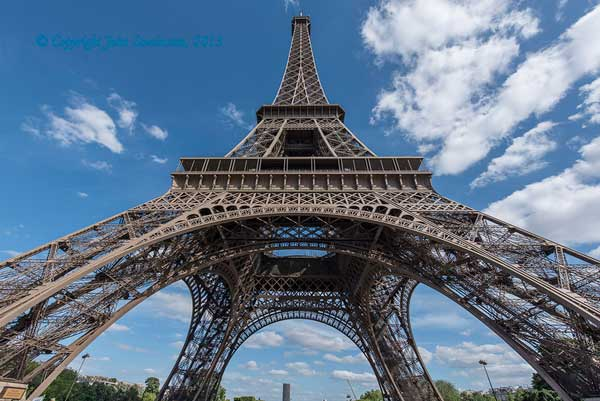 Eiffel Tower, Tamron 16mm - You can't capture a shot like this with a smartphone. (Pic: John Swainston)