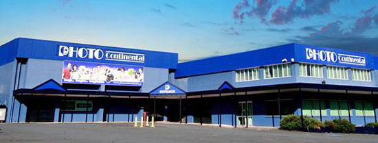 The Photo Continental property in Mt Gravatt. The retail premises have since cotracted to the left half of the building.