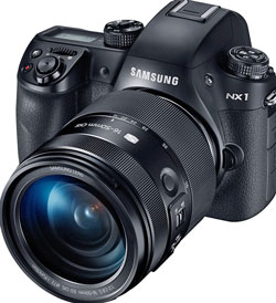 Even a high-end enthusiast camera like the Samsung NX1