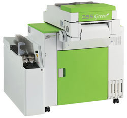 Noritsu QSS Green with auto-duplexing unit.