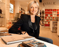 Kikki K founder and 'stationery lover', Kristina Karlsson.