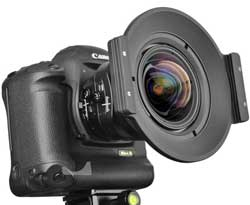 The Nisi 150mm square filter system.