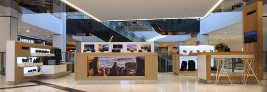 The new Canon/DigiDirect venture is located on Level 4 at Westfield Chatswood.
