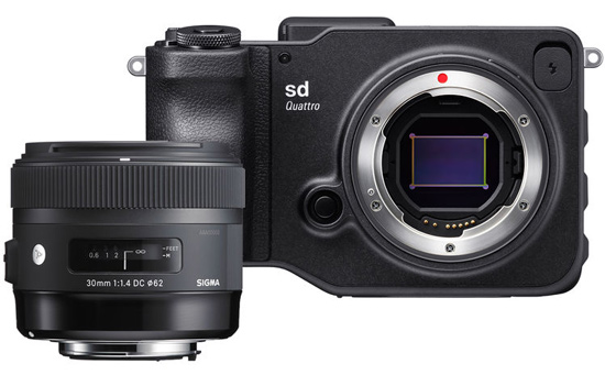 The sd Quattro/f1.4 30mm Art bundle represents great value at $1599.