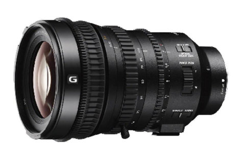 Sony's new cine lens.